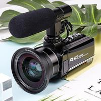 24 million PX Video Camera Digital 8X Zoom With WiFi Microphone 1080P HD 3 Screen DIS Antishake For SONY CMOS Home Camcorder