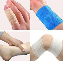 5cm*5m Security Protection Self Adhesive Elastic Bandage Cloth Fabric Self Adhesive Elastic First Aid Bandage Dropshipping(China)