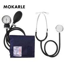Upper Arm Sphygmomanometer Manual Blood Pressure Meter blood Pressure Cuff Stethoscope Health Care Tools Home Medical Devices недорого