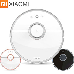 Xiaomi aspiradora Robot Roborock S50 S51 S55 limpieza en húmedo aspiradora Robot remoto Mihome APP Control Wifi