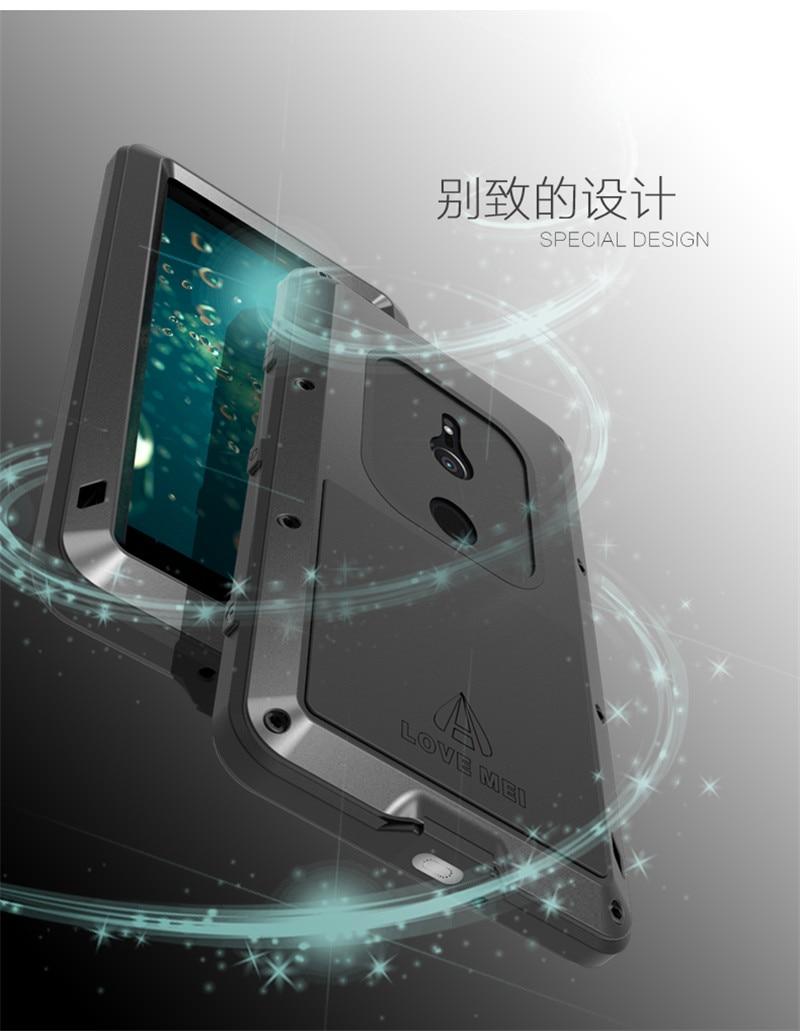Pour Sony XZ2 armure métal antichoc boîtier pour SONY Xperia XZ2 aluminium vie couverture étanche pour Sony XZ2 Xperia XZ2 Compact