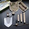 Neue Multifunktions Tragbare Outdoor Survival Klapp Militärische Schaufel Fahrzeug Garten Schaufel Aluminium Legierung Griff-in Handwerkzeug-Sets aus Werkzeug bei