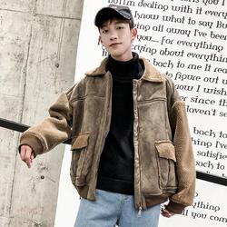 Зима бутик Для мужчин новая мода личности молодежи с длинными рукавами Дикий Повседневное темпера Для мужчин t твердых Цвет хлопок теплая