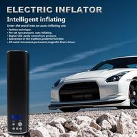Upgrade Mini Inflator Electric Portable Car Bike Pump with LCD Display Electric 150PSI Auto Air Compressor Bicycle Pumps