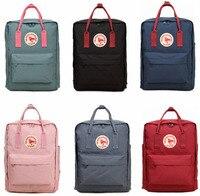 16L Kanken Backpacks Travel Bag Men Women Waterproof Kanken Mochila Bag Classic Female Male Girls Teenagers Travel Bag Backpack
