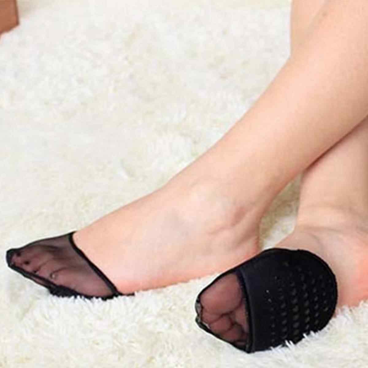 1 cặp Mùa Hè Bán Lòng Bàn Tay Vớ Thuyền Vớ Cotton Rắn Giày Cao gót Vô Hình Phụ Nữ Vớ Thở Bình Thường Ladies Vui acrylic