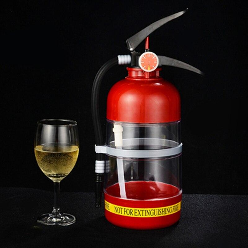 1.5l créatif extincteur liquide distributeur de boissons Mini bière vin eau Bar barils outils Machine pour maison hôtel Ktv Djq02
