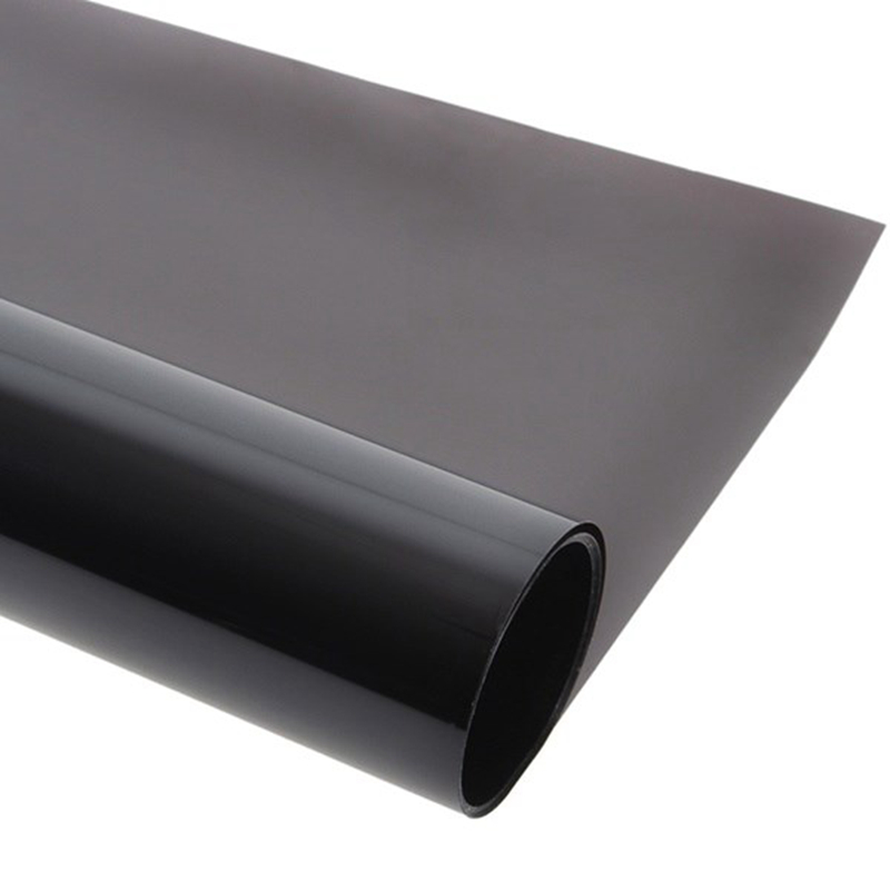 50*300CM Car Window Tint VLT 5% Curtains Tinting Film Solar Protection Sun Shade For Auto Side Window