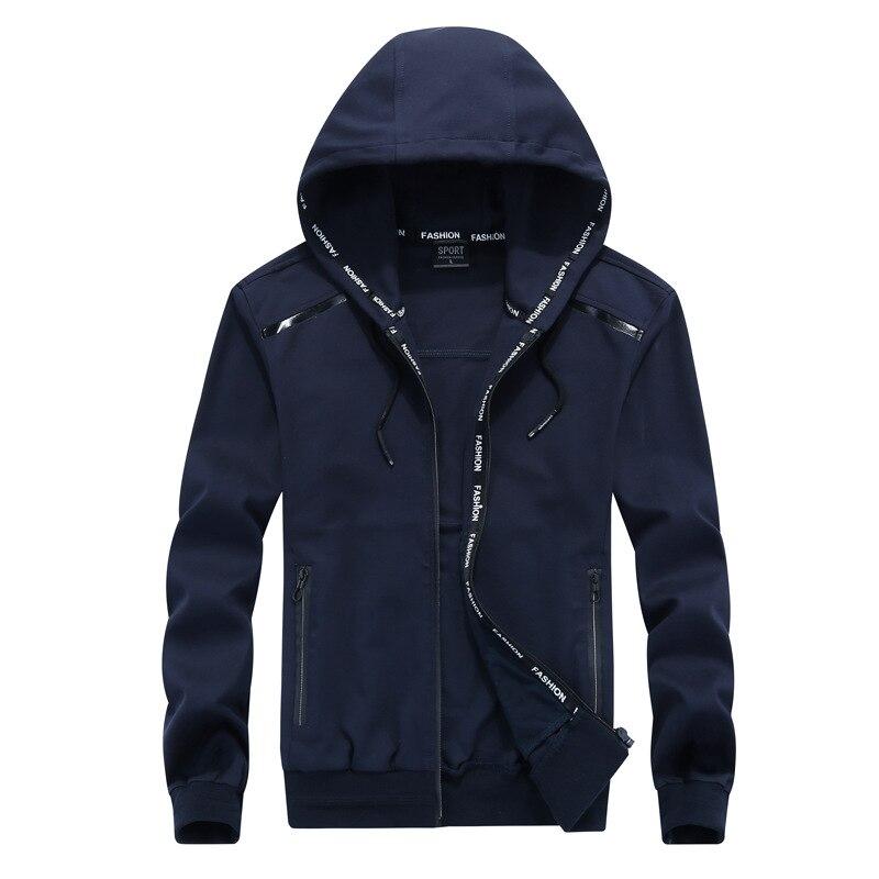 Large size 9XL 2019 Mens Hoodies Sweatshirt Cotton Hoodie Jackets Tracksuit Men Autumn Spring Clthing Plus Size 8XL in Hoodies amp Sweatshirts from Men 39 s Clothing