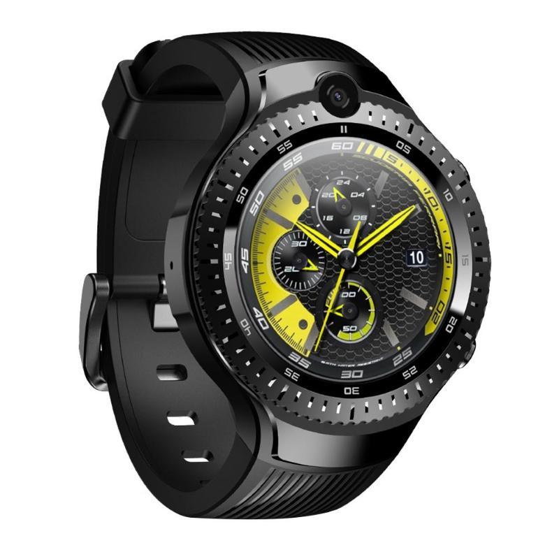 Zeblaze THOR 4 Dual 4G Smartwatch 5.0MP+5.0MP Camera Android Watch 1.4 AOMLED Display GPS/GLONASS 16GB Smart Sim Men