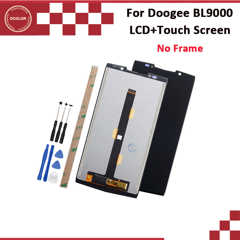 ocolor For Doogee BL9000 LCD Display And Touch Screen 5 99 Tested For Doogee BL9000 Phone