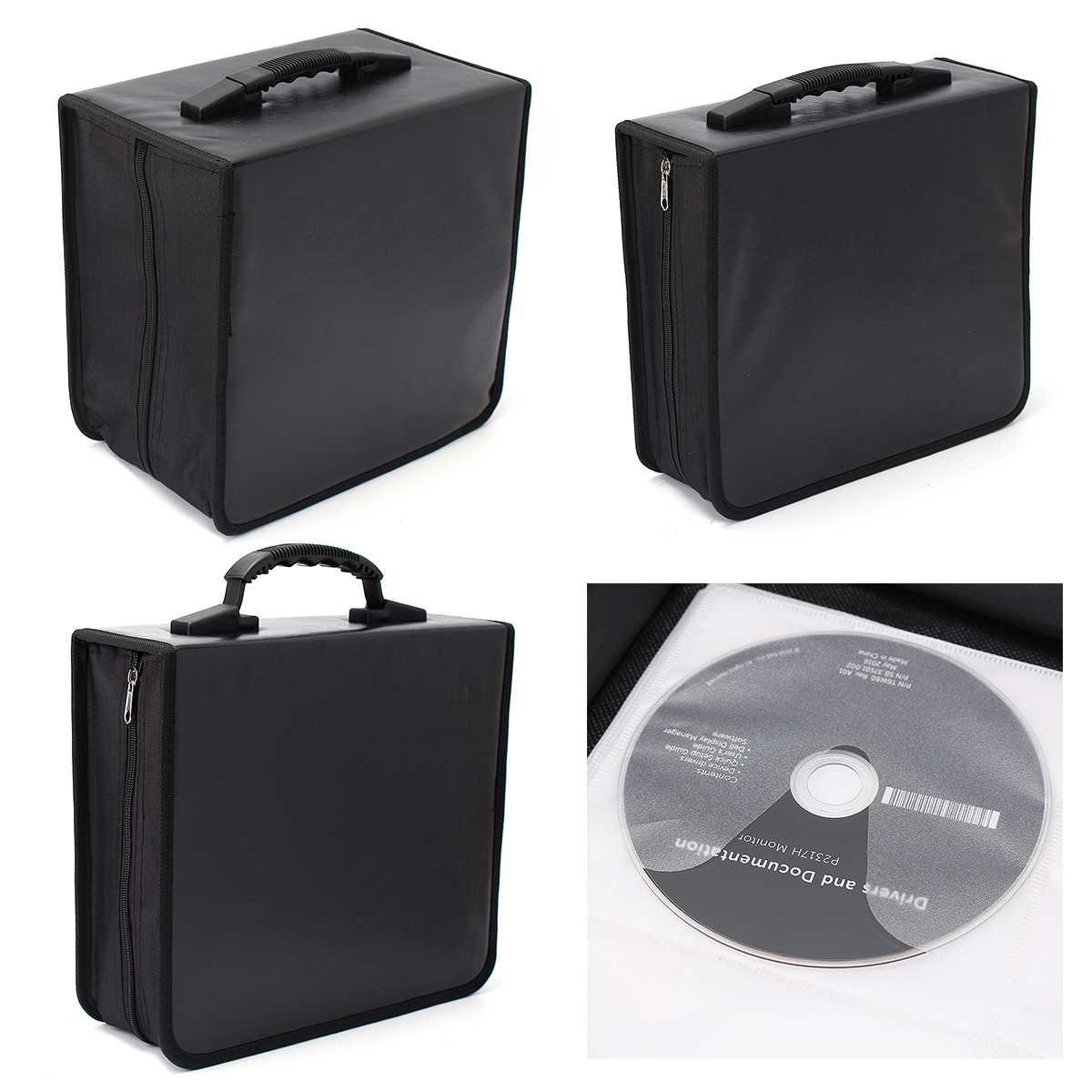 5747730c443b 240/400/520 диск CD DVD портативный хранения мира географические карты  печатных держатель Carry