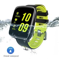 KINGWEAR GV68 Smart Watch IP68 Waterproof MTK2502 Bluetooth 4.0 SmartWatch Wearable device Heart Rate Monitor for iPhone Android