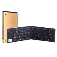 Gaming Keyboard Mini Ultra thin Bluetooth Keyboard Universal Foldable Wireless Keyboard