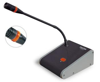 OUTLET Microphone desktop Fonestar Ding-Dong with tones musical notice and Pre Amp, with switch ON/