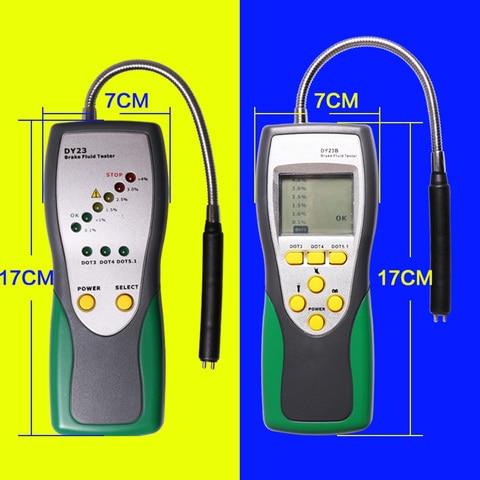 Oil Inspection Diagnostics Tool Moisture Level Precise Detector Goose Neck Probe Car Brake Fluid Tester Portable Automotive Pakistan