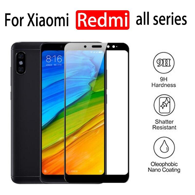 Protective Glass On For Xiaomi Redmi Note 7 6 Pro Tempered Glas Ksiomi Xiaomei 4 4x 5a 7 Screen Protector Xiami A5 X4 5p 6p Film