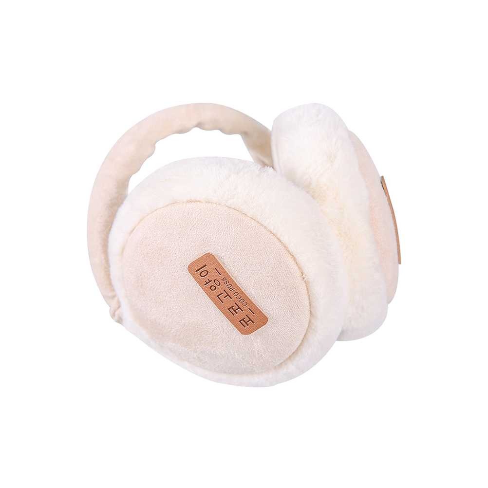 Folding Men Women Earmuffs Fall Winter Warm Burger Plush Earmuffs Ear Warmer Children's Ear Decor
