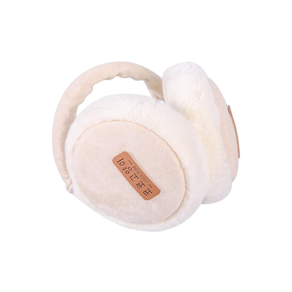 Folding Men Women Earmuffs Fall Winter Warm Burger Plush Earmuffs Ear Warmer Children's Ear Decor
