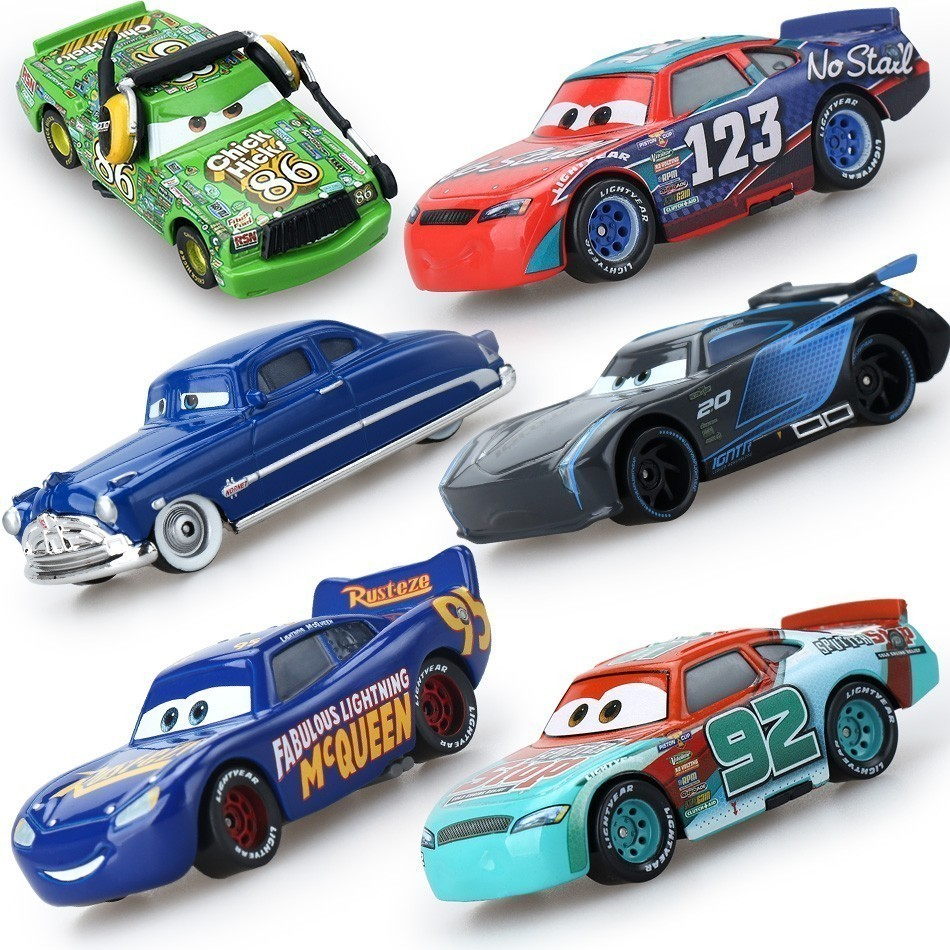 Disney Pixar Cars 2 33 Style Lightning Mcqueen Mater 1:55 Diecast Metal Alloy Model Car Birthday Gift Toys For Children Boys