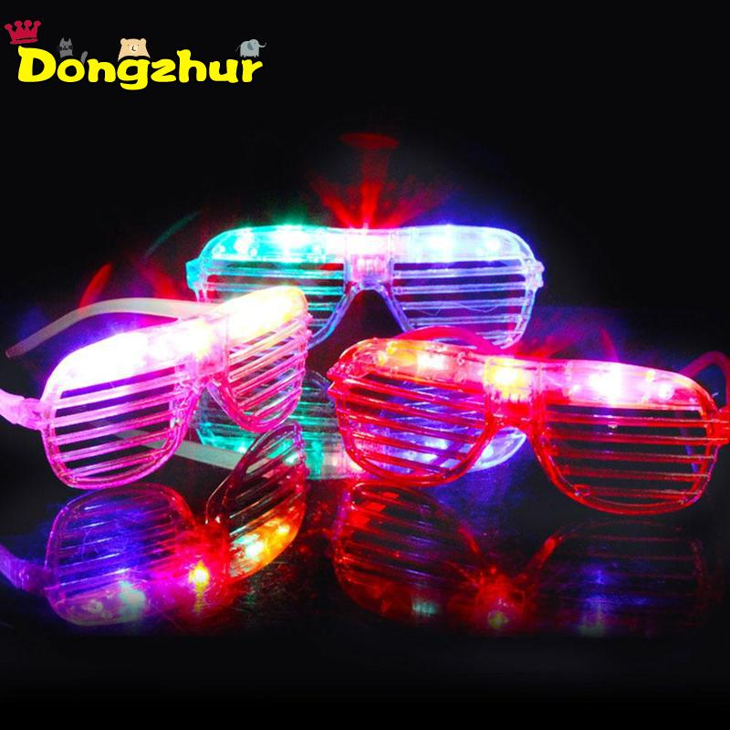 1PC LED Flashing Glasses Glowing Eye Glasses Light Up Kids T