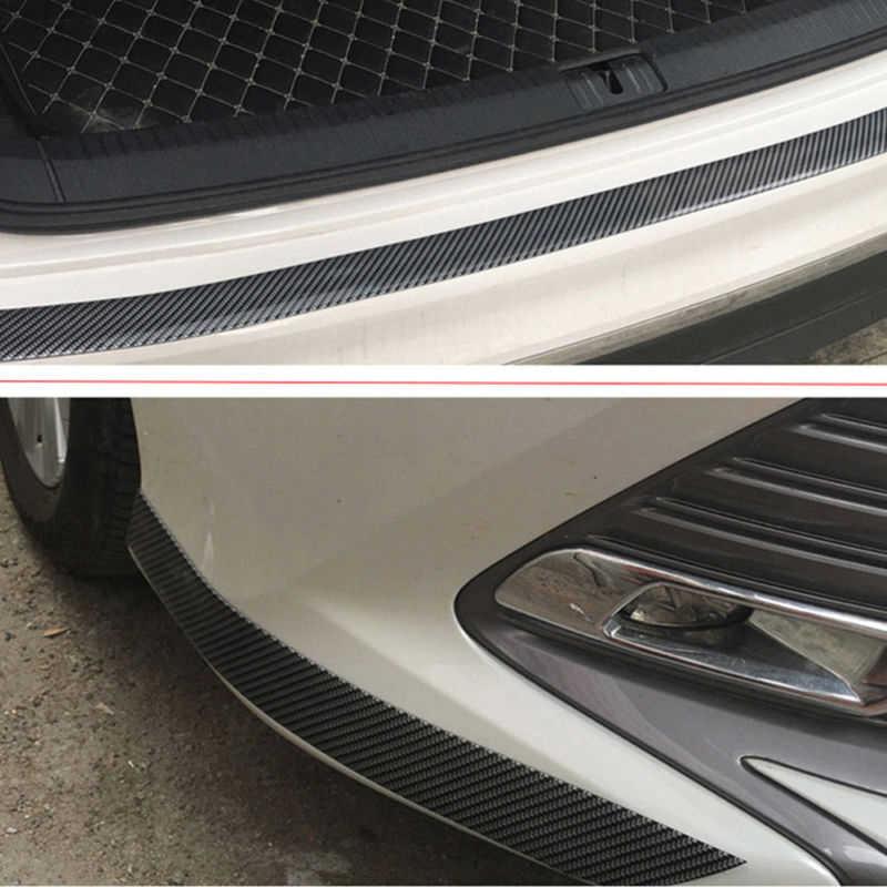 1 * Автомобиль стикеры углерода волокнистый слой резины порога протектор край гвардии Газа Горячая 2019
