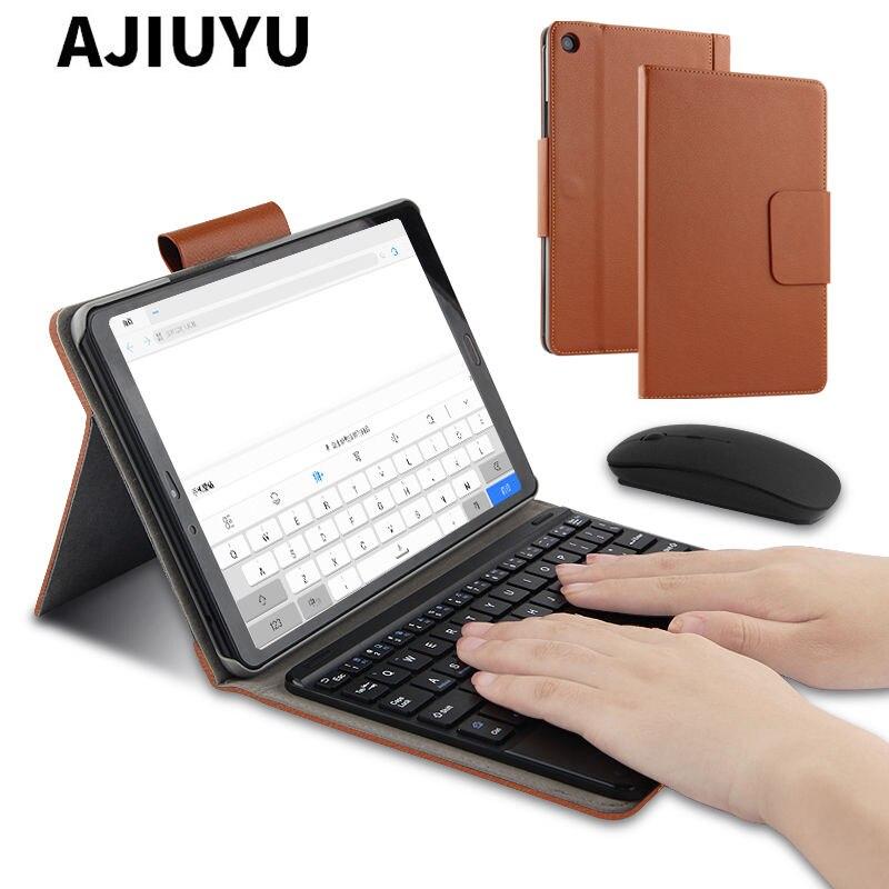 Étui pour Xiao mi Pad 4 mi Pad4 Plus sans fil Bluetooth clavier housse de protection PU cuir mi Pad 4 Plus 4 plus 10.1 étui pour tablette