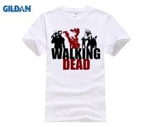 GILDAN The walking dead evolution T-Shirt Fashion Short Sleeve Logo tshirt Top Tees T Shirt For Men Women