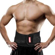 299462f430d Lumbar Waist Support Lower Back Brace Men Women Waist Trimmer Belt Exercise  Body Weight Loss Gym Fitness Belt Waist Trainer