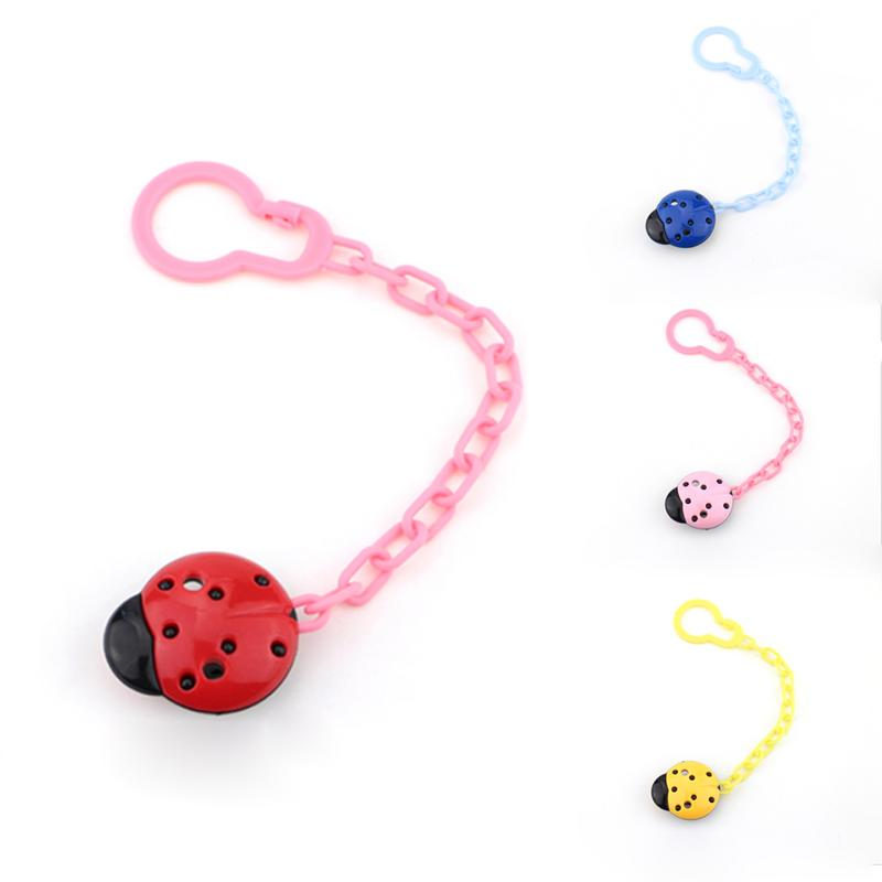 Baby Pacifier Clips Soother Holder Anti Folder Pacifier Clip Chain Dummy Nipple Holder Baby Pram Hook Hanging Strap