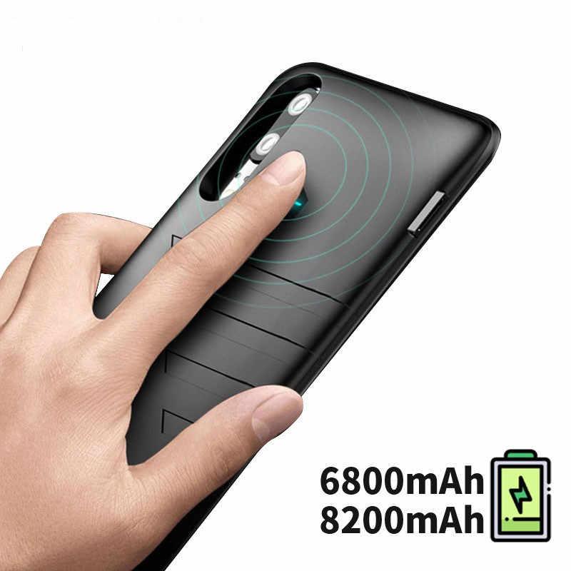 6800 mah بنك طاقة رفيع جدا حافظة لهاتف huawei P20 برو المحمولة سريع شاحن بطارية الهاتف حافظة لهاتف huawei P 20 برو غطاء
