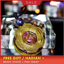 AURAREIKI Orgonite MineralCrystal Pendant Emotional Harmony Glamour Jewelry Reiki Crystal Pendant For Jewelry Making For Women