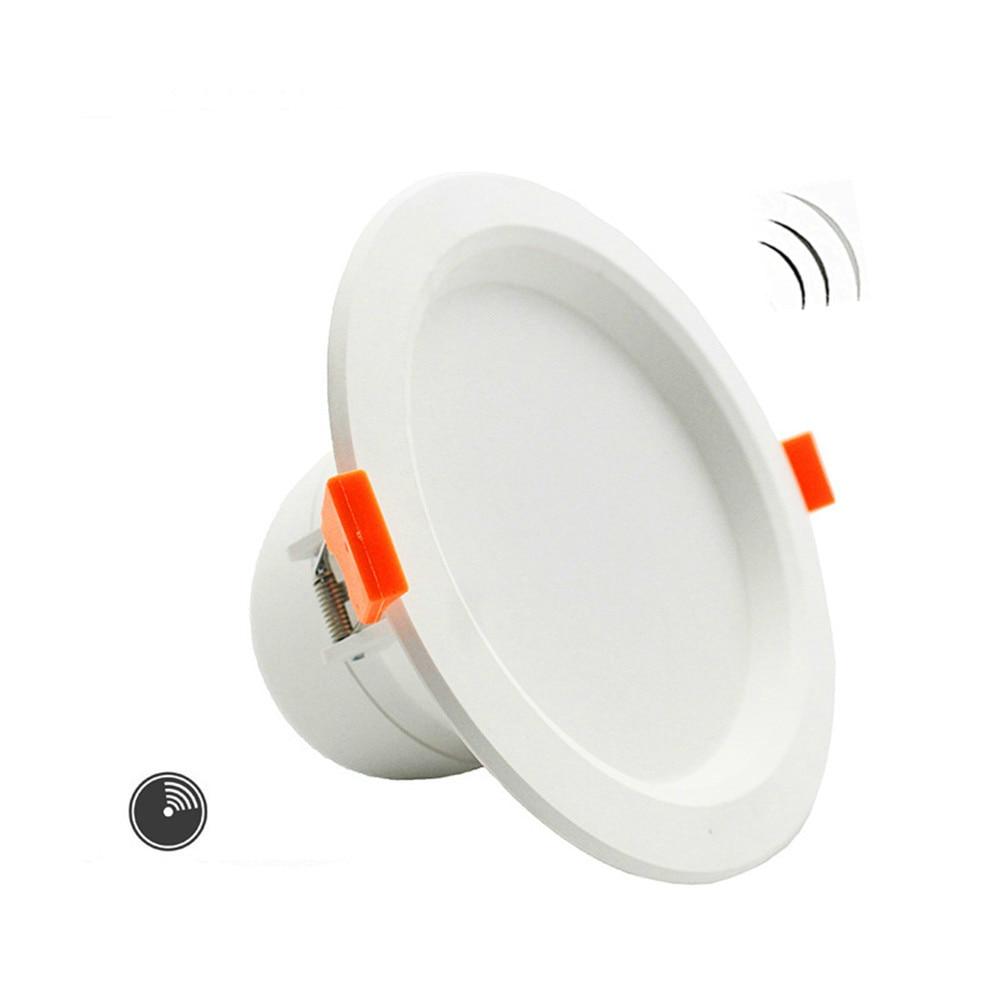3W/5W/7W LED Ceiling Lamp Downlights For Bathroom Stairs Balcony AC220V With Intelligent Radar Sensor Lighting3W/5W/7W LED Ceiling Lamp Downlights For Bathroom Stairs Balcony AC220V With Intelligent Radar Sensor Lighting
