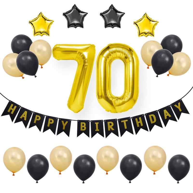Detail Feedback Questions About 23 Pcs 70th Happy Birthday