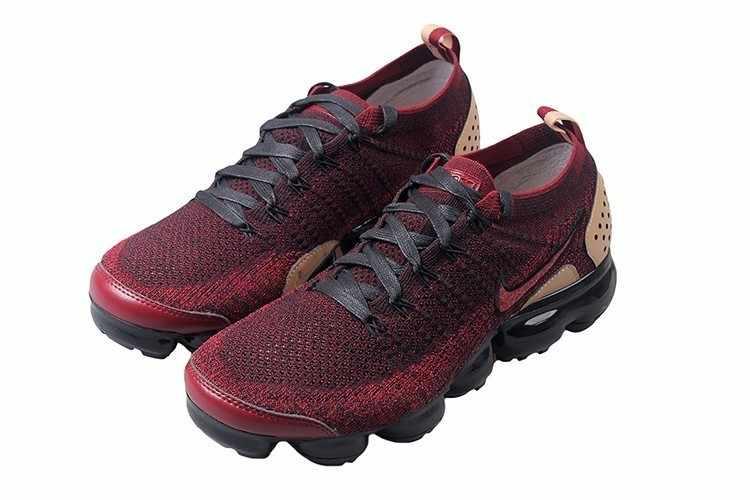 Nike Air Vapormax Flyknit Loopschoenen Voor Man Ademend antislip Sneakers #942842-203