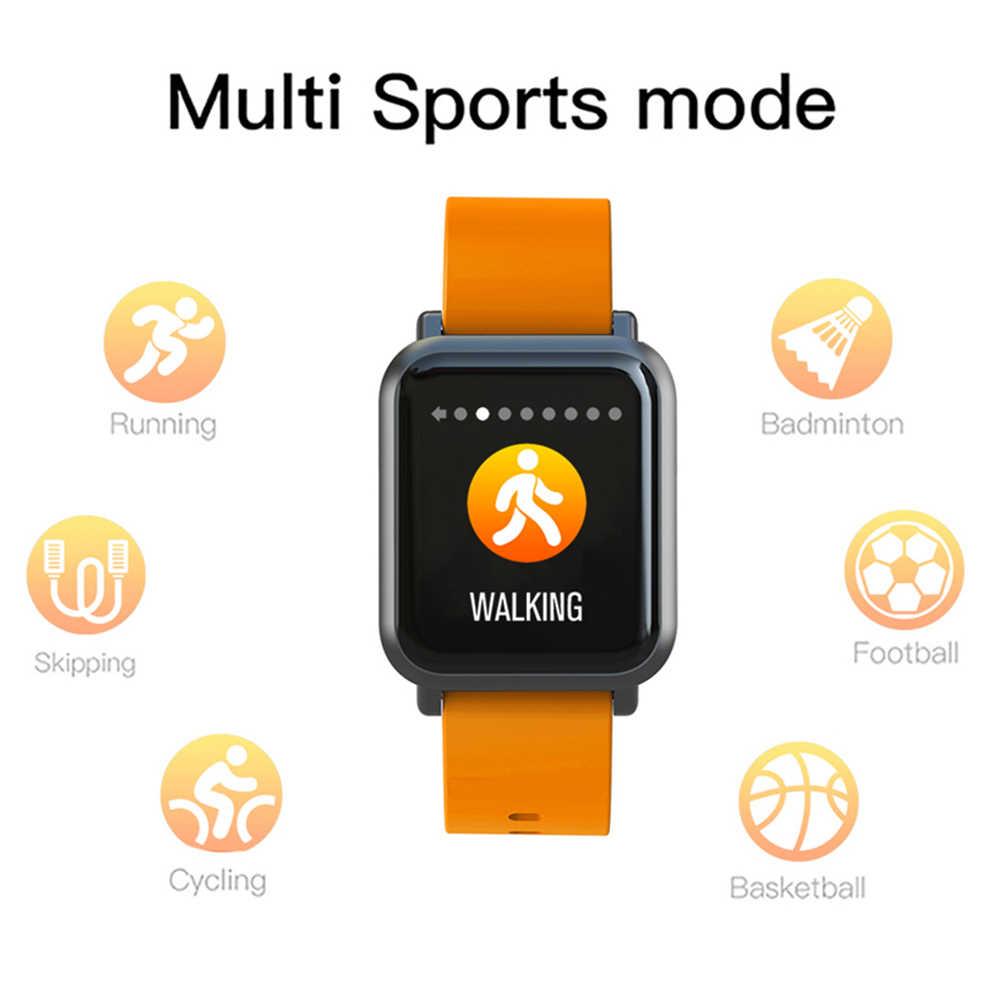 COLMI חכם שעון S9 בתוספת 2.5D מסך גורילה זכוכית IP68 עמיד למים שעון כושר פעילות Tracker Smartwatch עבור apple טלפון