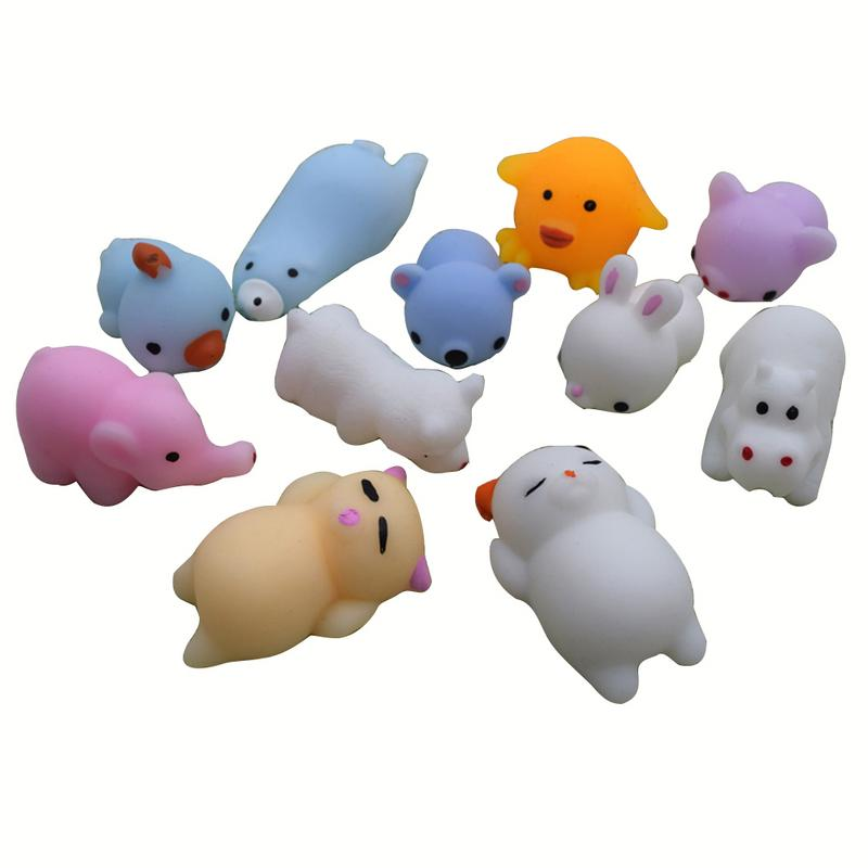 Creative Animal Toy Anti Stress Ball Squeezing Toy Small Corps Funny Decompression Squeezing Pinch Toy Stress Relief Toy Random