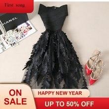 Женское Сетчатое платье большого размера с вышивкой и шитьем