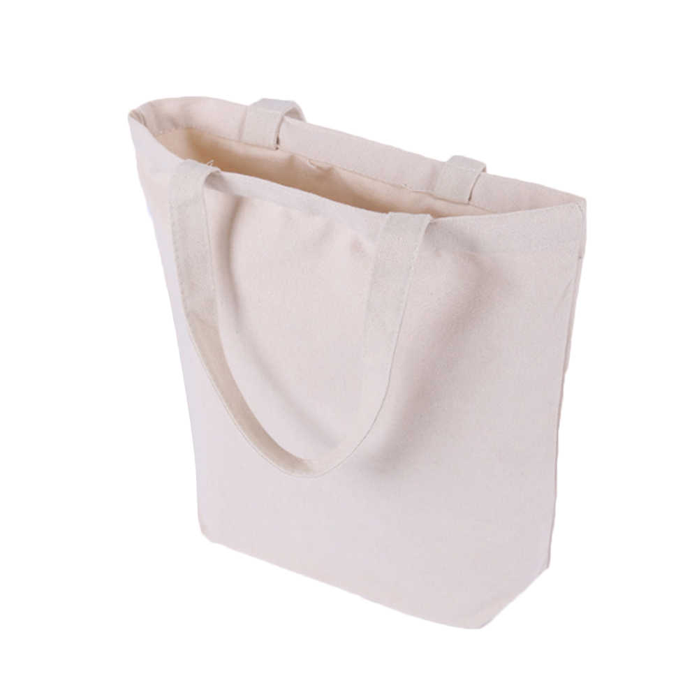 2018 High-Quality Women Men Handbags Canvas Tote Bags Reusable Cotton Grocery  Shopping Bag Webshop aa9cdcb09