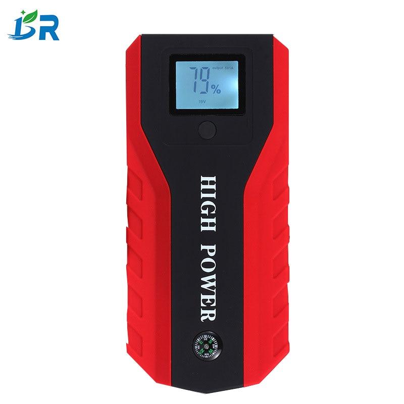 Meilleur Multi-Fonction Mini Portable chargeur de batterie de secours De Voiture Jump Starter 12000 mAh Booster batterie externe Dispositif de Démarrage
