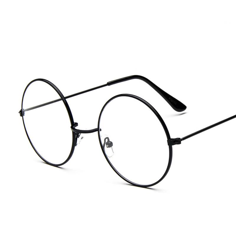 4aa5ca8b71a Round Glass Frame for Harry potter Metal Frame Clear Lens Circle Spectacle Eye  Glasses Women Men Optical Eyewear Female Nerd-in Eyewear Frames from  Apparel ...