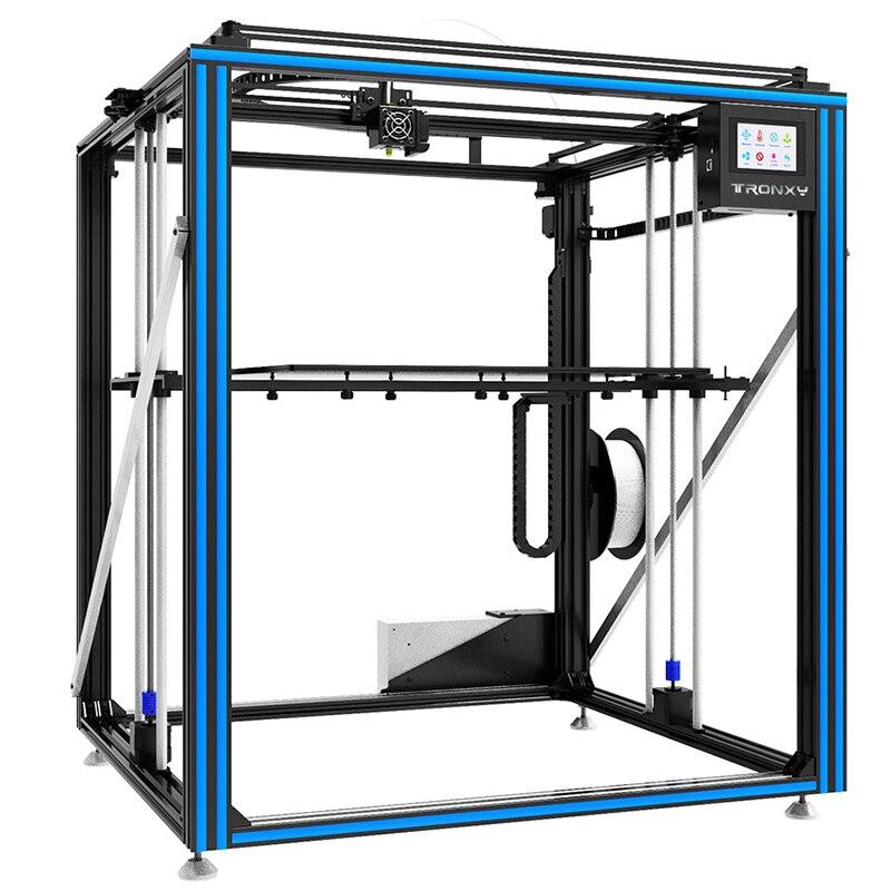 Newest Tronxy X5ST 500 3D Printer kit 500 x 500 x 600 Heat Bed Big Printing Size DIY kits With Touch