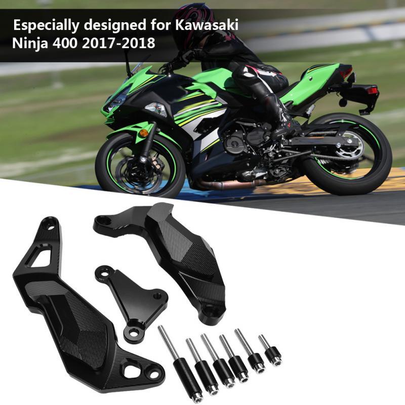Engine Guard Case Slider Kit Motorcycle Engine Guard Case Slider Cover Protector Universal for Kawasaki Ninja