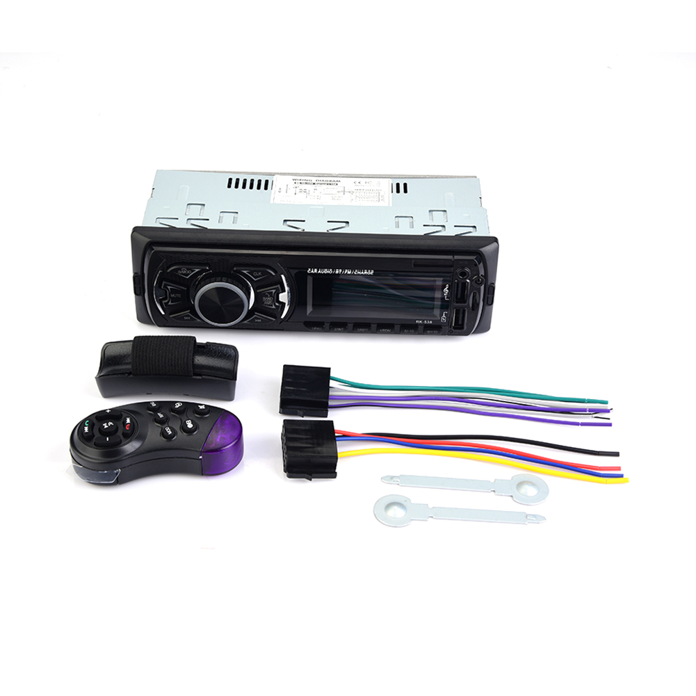 Unterhaltungselektronik Auto Bluetooth Fm Radio 1-din Auto Stereo Player Telefon Aux Mp3 Fm/usb/radio Hintergrundbeleuchtung Lcd Display Remote-control Für Telefon AusgewäHltes Material