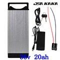 36 V 20Ah ebike lithium ion battery Pack com carregador rápido para 36 3A V 250 W 350 W 500 W do motor bicicleta Elétrica