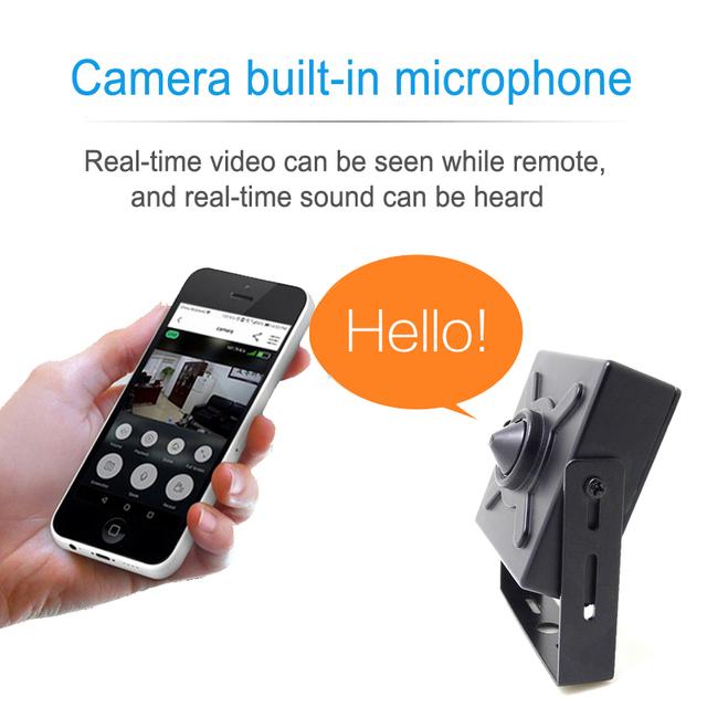 Mini IP Audio Security Camera for Home Surveillance