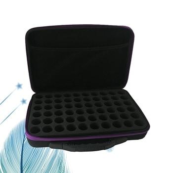 60-Bottle Essential Oils Storage Case Lightweight Durable Portable Essential Oil Case Pack Carrying Holder Organizer Travel Box 2
