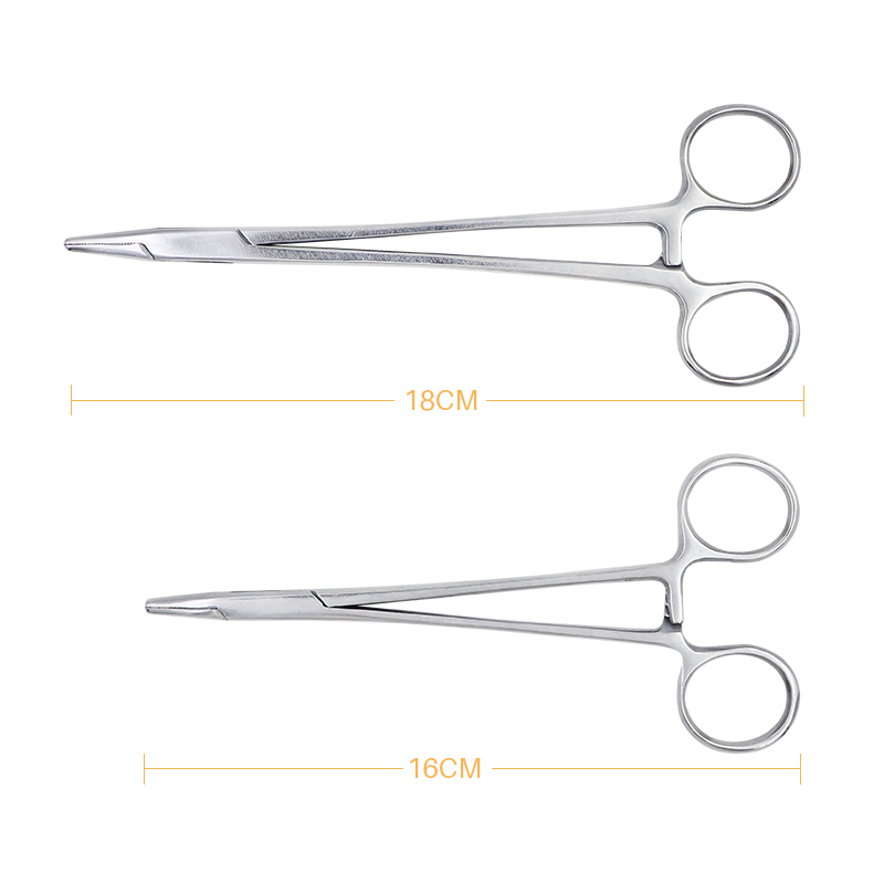 1 Pc Dental Needle Holder Pliers Stainless Steel 16cm/18cm Forceps Orthodontic Tweezer Dentist Instrument Equipment