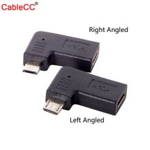 Data-Adapter 5pin 90-Degree Right Female Usb-2.0 Type-C Micro To Zihan Left Angled-Type