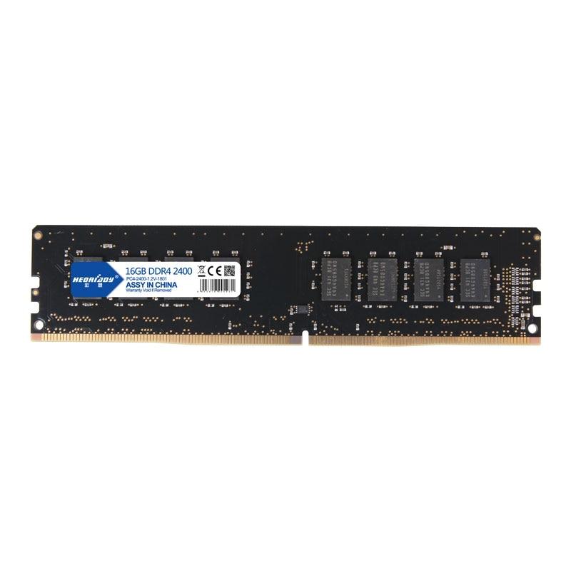16 GB DDR 4 PC RAM 4 GB 8 GB 2400 MHz De Bureau 1.2 v 288pin soutien tous les ddr4 slots carte mère